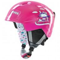 Uvex Manic, helmet, pink snow bunny