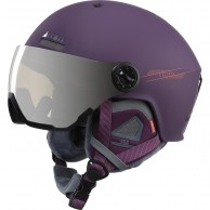 Cairn Eclipse Rescue, ski helmet with Visor, Mat plum