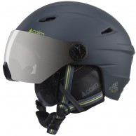 Cairn Electron, ski helmet with visor, mat shadow