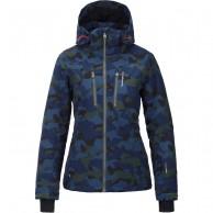 Tenson Yoko Camo, ski jacket, women, khaki