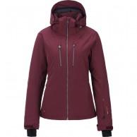 Tenson Yoko ski jacket, women, wine