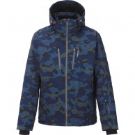 Tenson Yanis Camo ski jacket, men, khaki