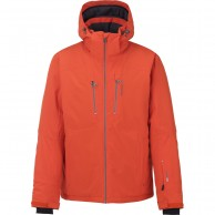 Tenson Yanis ski jacket, men, orange