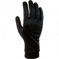 Cairn Silk, liner gloves, women, black