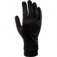 Cairn Silk, liner gloves, junior, black
