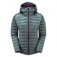 Montane Womens Featherlite Down Jacket, stratus grey