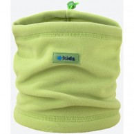 Kama Kids  neck warmer, Tecnopile fleece, lime