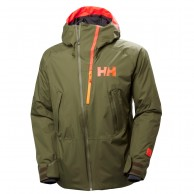 Helly Hansen Nordal ski jacket, mens, ivy green