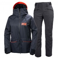 Helly Hansen W Powder/Legendary ski set, women, blue
