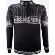 Kama Thor Merino Sweater, men, black