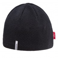 Kama knitted beanie with Gore Windstopper, black