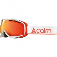 Cairn Alpha, goggles, shiny white