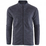 Outhorn fleece shirt, men, dark blue melange