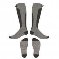4F Cheap Ski Socks, men, cold light grey