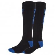 4F 2 pair Cheap Ski Socks, men, dark blue