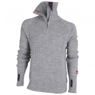 Ulvang Rav sweater w/zip, mens, grey