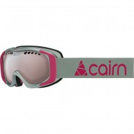 Cairn Booster, goggles, mat silver