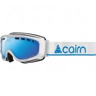 Cairn Visor, OTG goggles, mat white blue