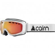 Cairn Visor, OTG goggles, mat white