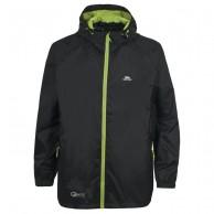 Trespass Qikpac rain jacket, junior, black