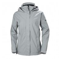 Helly Hansen W Aden Rain Jacket, women, grey