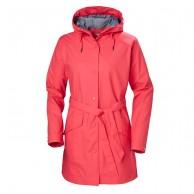 Helly Hansen W Kirkwall Rain Jacket, womens, goji berry