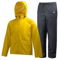 Helly Hansen Voss rain suit, mens, yellow