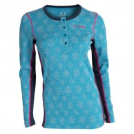 Ulvang Snosoleie Round neck Ws, women, mosaic blue