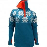 Ulvang Rav Kiby sweater, women, mosaic blue