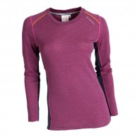 Ulvang Rav 100% round neck, women, beetroot