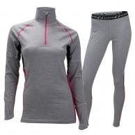 Ulvang Training Turtle skiunderwear set, women, grey
