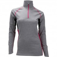 Ulvang Training Turtle Neck w/zip, women, grey