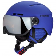 HEAD Knight Visor ski helmet, blue