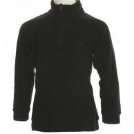 4F Microtherm fleece shirt, junior, black