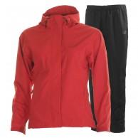 Helly Hansen W Seven J rain suit, womens, cardinal