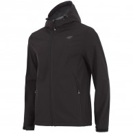 4F Sammy, softshell jacket, men, black