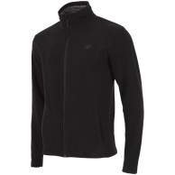 4F Monta mens fleece jacket, black