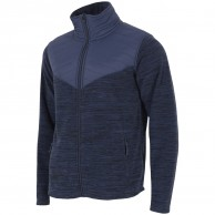 4F Manti mens fleece jacket, navy melange