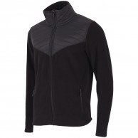 4F Manti mens fleece jacket, black