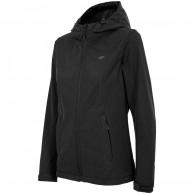 4F Helga softshell jacket, women, black