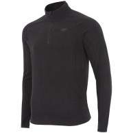 4F Odin Microtherm mens fleece midlayer, black