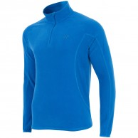 4F Odin Microtherm mens fleece midlayer, cobalt blue
