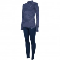 4F Frigg Cooldry ski underwear, women, suit, navy