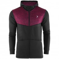 Outhorn Sporty Hoodie, fleece jacket, men, red