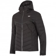 4F Bernie, ski jacket, men, black