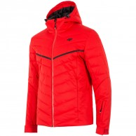 4F Bernie, ski jacket, men, red