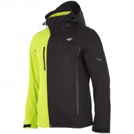 4F Gordon ski jacket, men's, green/black