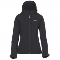 Kilpi Elia, womens soft shell jacket, black