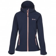 Kilpi Elia, womens soft shell jacket, dark blue