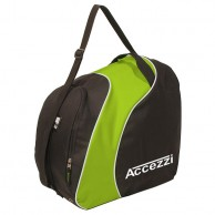 Accezzi Sapporo, boot- and helmet bag, black/green